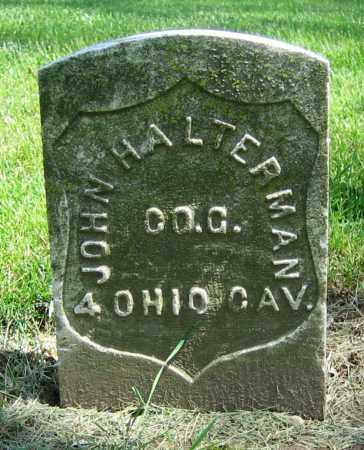 HALTERMAN, JOHN - Clark County, Ohio | JOHN HALTERMAN - Ohio Gravestone Photos