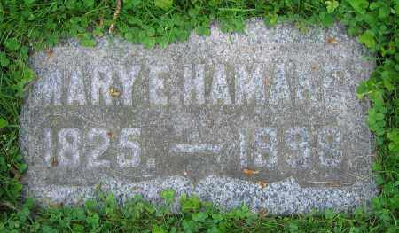 HAMMAKER, MARY E. - Clark County, Ohio | MARY E. HAMMAKER - Ohio Gravestone Photos