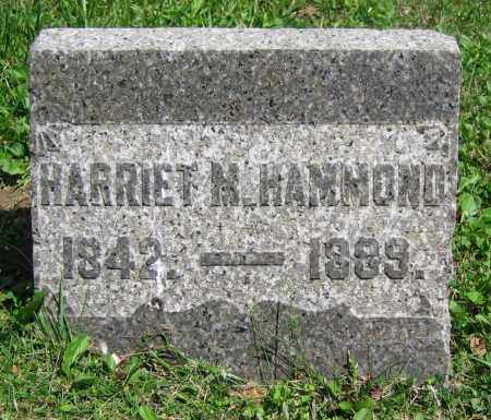 HAMMOND, HARRIET M. - Clark County, Ohio | HARRIET M. HAMMOND - Ohio Gravestone Photos
