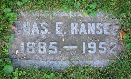 HANSELL, CHAS. E. - Clark County, Ohio | CHAS. E. HANSELL - Ohio Gravestone Photos