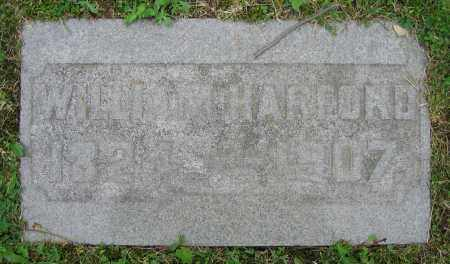 HARFORD, WILLIAM - Clark County, Ohio | WILLIAM HARFORD - Ohio Gravestone Photos