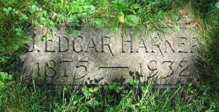 HARNER, J. EDGAR - Clark County, Ohio | J. EDGAR HARNER - Ohio Gravestone Photos
