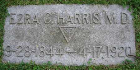HARRIS, EZRA C.  M.D. - Clark County, Ohio | EZRA C.  M.D. HARRIS - Ohio Gravestone Photos