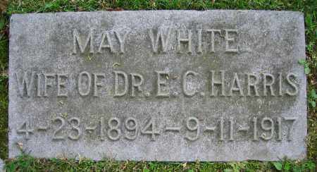 WHITE HARRIS, MAY - Clark County, Ohio | MAY WHITE HARRIS - Ohio Gravestone Photos