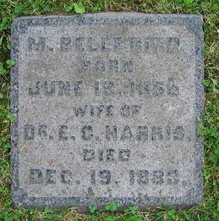 BIRD HARRIS, M. BELLE - Clark County, Ohio | M. BELLE BIRD HARRIS - Ohio Gravestone Photos