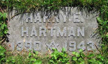 HARTMAN, HARRY E. - Clark County, Ohio | HARRY E. HARTMAN - Ohio Gravestone Photos