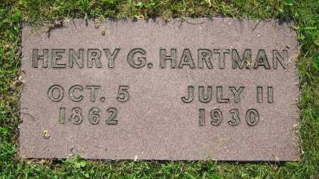 HARTMAN, HENRY G. - Clark County, Ohio | HENRY G. HARTMAN - Ohio Gravestone Photos