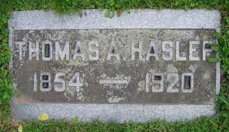 HASLER, THOMAS A. - Clark County, Ohio | THOMAS A. HASLER - Ohio Gravestone Photos
