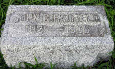 G HATFIELD, JOHN - Clark County, Ohio | JOHN G HATFIELD - Ohio Gravestone Photos