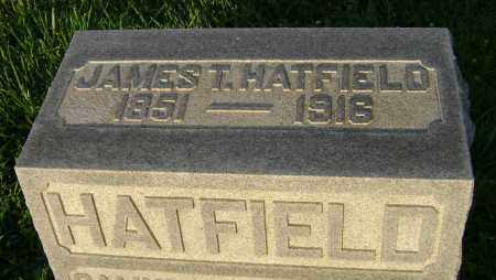 HATFIELD, JAMES T. - Clark County, Ohio | JAMES T. HATFIELD - Ohio Gravestone Photos