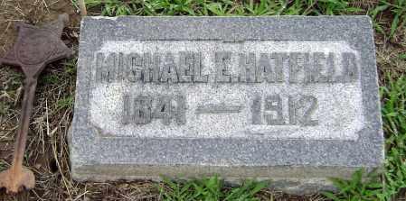 HATFIELD, MICHAEL - Clark County, Ohio | MICHAEL HATFIELD - Ohio Gravestone Photos