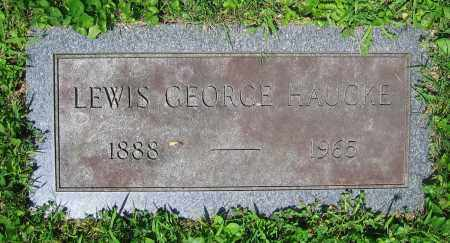HAUCKE, LEWIS GEORGE - Clark County, Ohio | LEWIS GEORGE HAUCKE - Ohio Gravestone Photos