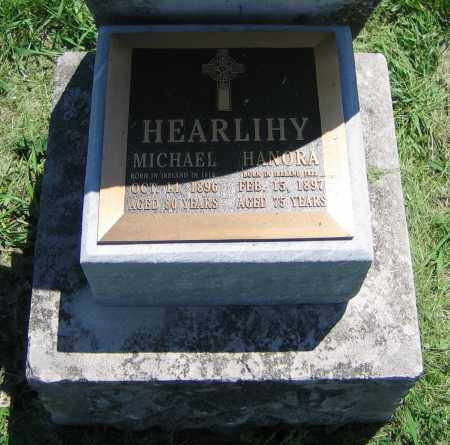 HEARLIHY, MICHAEL - Clark County, Ohio | MICHAEL HEARLIHY - Ohio Gravestone Photos