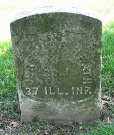 HEATH, JEREMIAH H. - Clark County, Ohio | JEREMIAH H. HEATH - Ohio Gravestone Photos