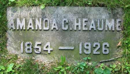 HEAUME, AMANDA C. - Clark County, Ohio | AMANDA C. HEAUME - Ohio Gravestone Photos