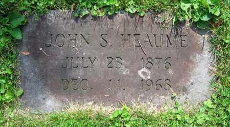 HEAUME, JOHN S. - Clark County, Ohio | JOHN S. HEAUME - Ohio Gravestone Photos