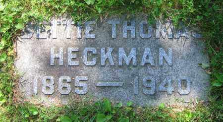 HECKMAN, BETTIE - Clark County, Ohio | BETTIE HECKMAN - Ohio Gravestone Photos
