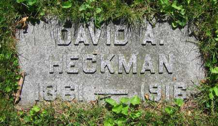 HECKMAN, DAVID A. - Clark County, Ohio | DAVID A. HECKMAN - Ohio Gravestone Photos