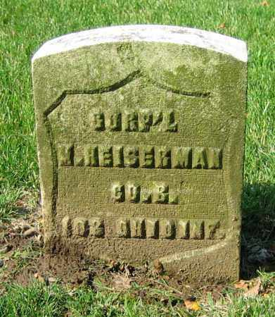 HEIGERMAN, M. - Clark County, Ohio | M. HEIGERMAN - Ohio Gravestone Photos