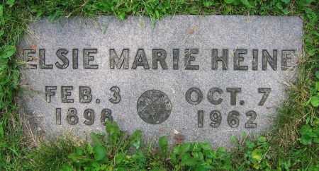 HEINE, ELSIE MARIE - Clark County, Ohio | ELSIE MARIE HEINE - Ohio Gravestone Photos