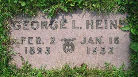 HEINE, GEORGE L. - Clark County, Ohio | GEORGE L. HEINE - Ohio Gravestone Photos