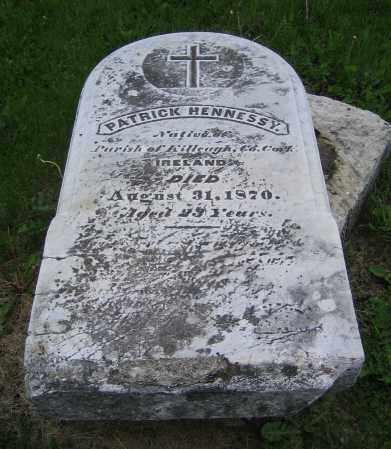 HENNESSY, PATRICK - Clark County, Ohio | PATRICK HENNESSY - Ohio Gravestone Photos