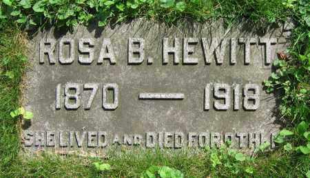 HEWITT, ROSA B. - Clark County, Ohio | ROSA B. HEWITT - Ohio Gravestone Photos