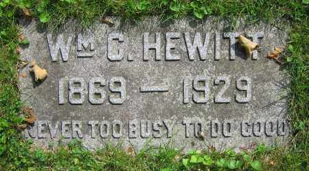 HEWITT, WM. C. - Clark County, Ohio | WM. C. HEWITT - Ohio Gravestone Photos