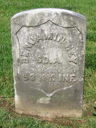 HEY, BENJAMIN - Clark County, Ohio | BENJAMIN HEY - Ohio Gravestone Photos