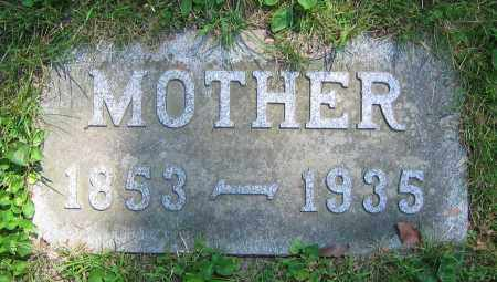 HIBSCHMAN, 'MOTHER' - Clark County, Ohio | 'MOTHER' HIBSCHMAN - Ohio Gravestone Photos