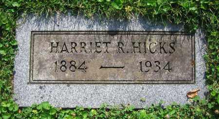 HICKS, HARRIET R. - Clark County, Ohio | HARRIET R. HICKS - Ohio Gravestone Photos