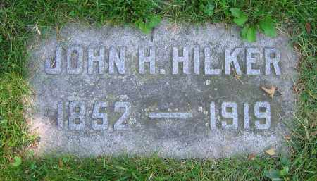 HILKER, JOHN H. - Clark County, Ohio | JOHN H. HILKER - Ohio Gravestone Photos