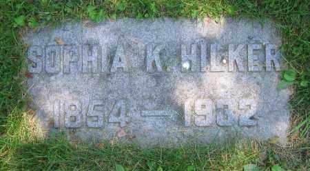 HILKER, SOPHIA K. - Clark County, Ohio | SOPHIA K. HILKER - Ohio Gravestone Photos