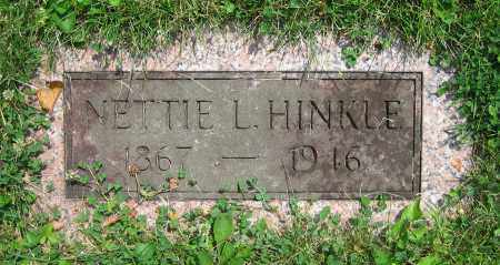 HINKLE, NETTIE L. - Clark County, Ohio | NETTIE L. HINKLE - Ohio Gravestone Photos