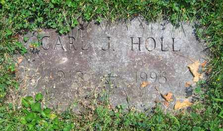 HOLL, CARL J. - Clark County, Ohio | CARL J. HOLL - Ohio Gravestone Photos