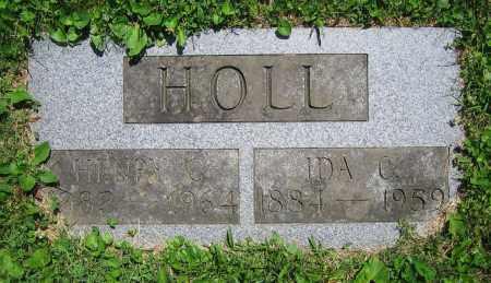 HOLL, IDA C. - Clark County, Ohio | IDA C. HOLL - Ohio Gravestone Photos