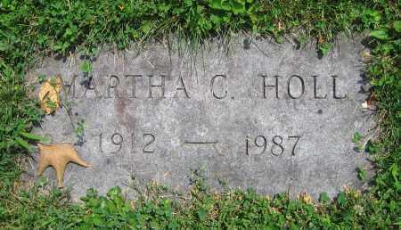 HOLL, MARTHA C. - Clark County, Ohio | MARTHA C. HOLL - Ohio Gravestone Photos