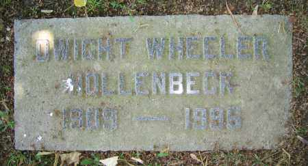 HOLLENBECK, DWIGHT WHEELER - Clark County, Ohio | DWIGHT WHEELER HOLLENBECK - Ohio Gravestone Photos
