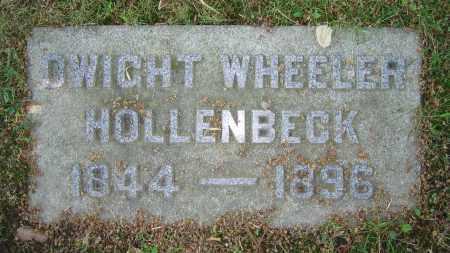 HOLLENBECK, DWIGHT WHEELER - Clark County, Ohio | DWIGHT WHEELER HOLLENBECK - Ohio Gravestone Photos