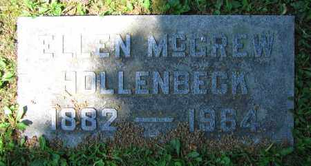 MCGREW HOLLENBECK, ELLEN - Clark County, Ohio | ELLEN MCGREW HOLLENBECK - Ohio Gravestone Photos