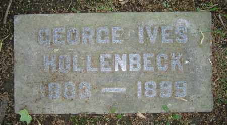 HOLLENBECK, GEORGE IVES - Clark County, Ohio | GEORGE IVES HOLLENBECK - Ohio Gravestone Photos