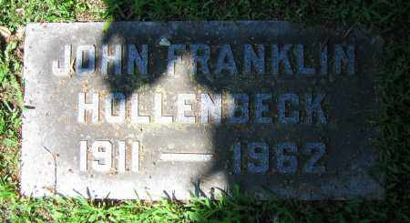 HOLLENBECK, JOHN FRANKLIN - Clark County, Ohio | JOHN FRANKLIN HOLLENBECK - Ohio Gravestone Photos