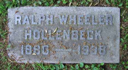 HOLLENBECK, RALPH WHEELER - Clark County, Ohio | RALPH WHEELER HOLLENBECK - Ohio Gravestone Photos