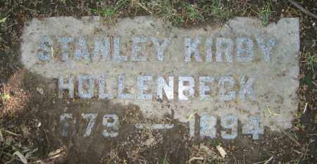 HOLLENBECK, STANLEY KIRBY - Clark County, Ohio | STANLEY KIRBY HOLLENBECK - Ohio Gravestone Photos