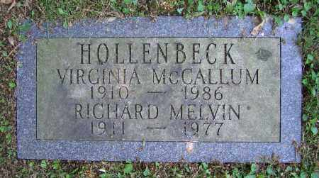 HOLLENBECK, VIRGINIA - Clark County, Ohio | VIRGINIA HOLLENBECK - Ohio Gravestone Photos