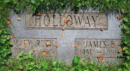 HOLLOWAY, MARY RUTH - Clark County, Ohio | MARY RUTH HOLLOWAY - Ohio Gravestone Photos