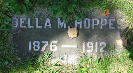 HOPPES, DELLA M. - Clark County, Ohio | DELLA M. HOPPES - Ohio Gravestone Photos