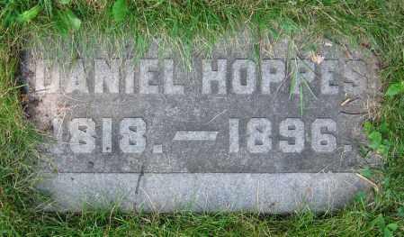 HOPPES, DANIEL - Clark County, Ohio | DANIEL HOPPES - Ohio Gravestone Photos