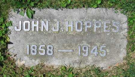 HOPPES, JOHN J. - Clark County, Ohio | JOHN J. HOPPES - Ohio Gravestone Photos