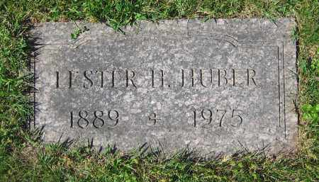 HUBER, LESTER H. - Clark County, Ohio | LESTER H. HUBER - Ohio Gravestone Photos